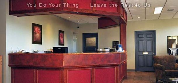 You Do Your Thing | Leave the Rest to Us | front desk