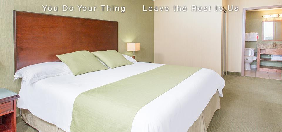 You Do Your Thing | Leave the Rest to Us | King Single room