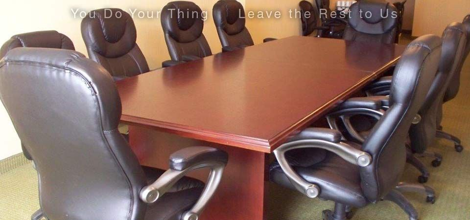 You Do Your Thing | Leave the Rest to Us | meeting room