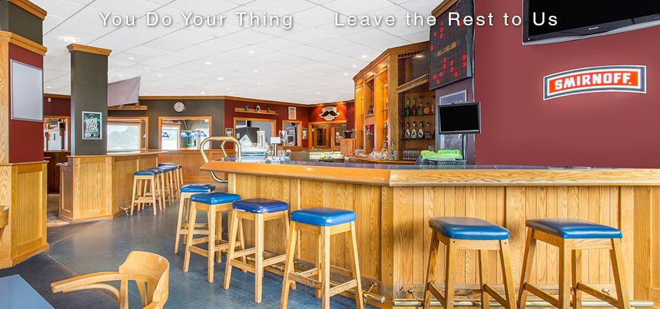 You Do Your Thing | Leave the Rest to Us | restaurant