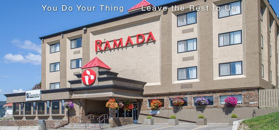 You Do Your Thing | Leave the Rest to Us | Ramada front